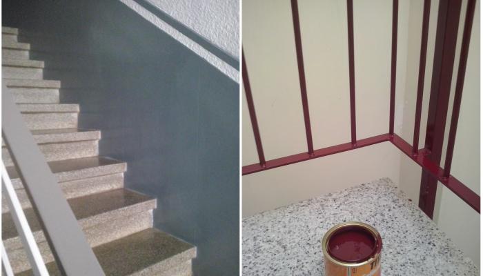 C mo pintar una escalera interior - Presupuesto para pintar ...
