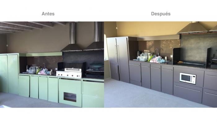Pintar muebles de cocina for Esmalte para muebles de cocina