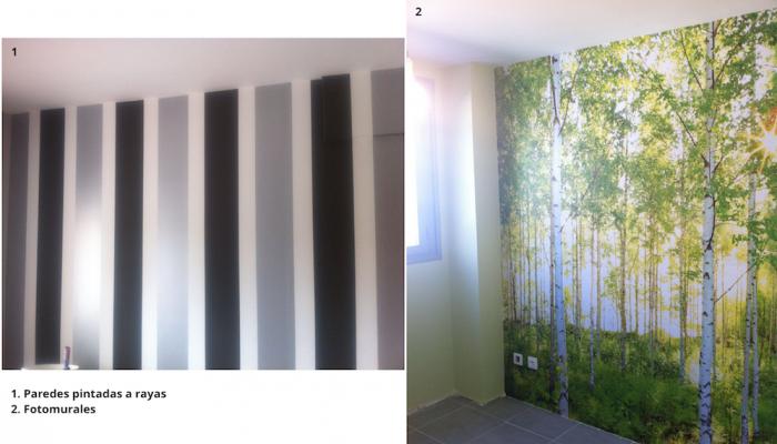 Paredes pintadas - Cabeceras pintadas en la pared ...