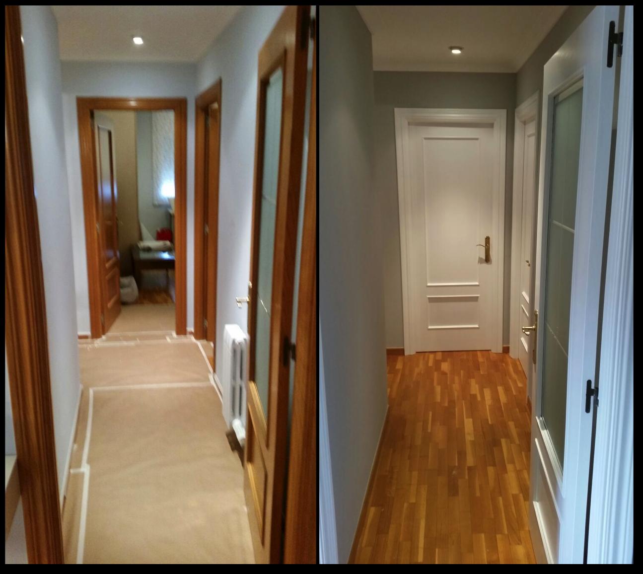 Pintar puertas de madera for Pintar puertas